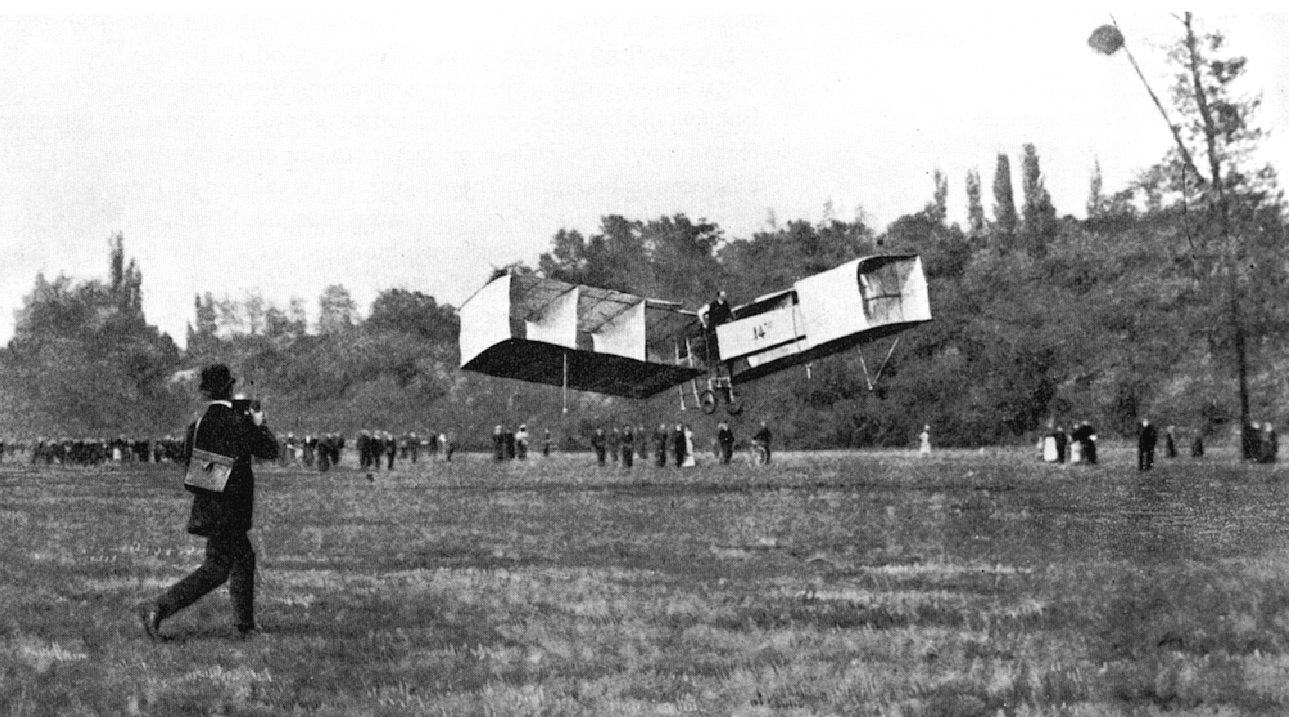 First Wright Brothers Flight intended for the decade after