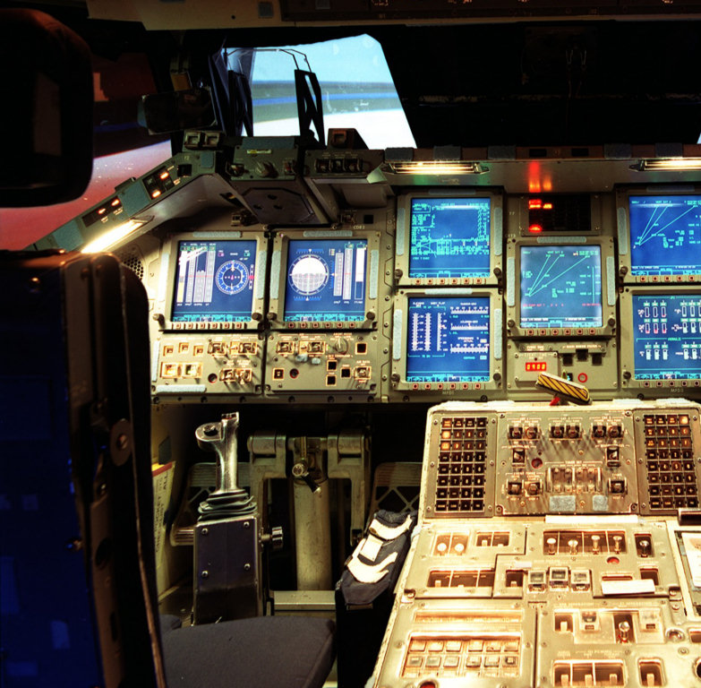 Space Shuttle Cockpit 360 - Pics about space