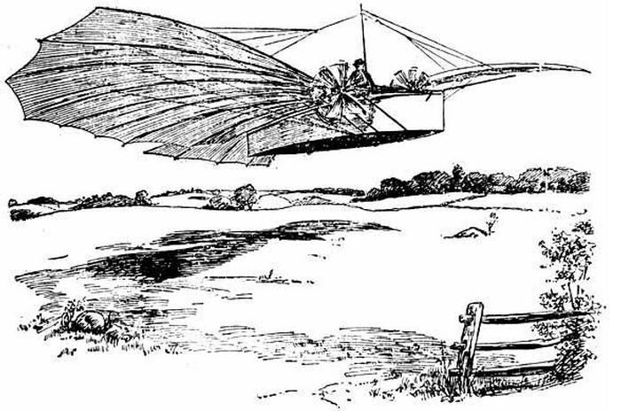 1901-Sketch-of-Whitehead-No.-21-airplane