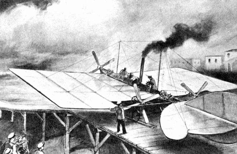 a history of the creation of airplanes by the wright brothers Even prior to the wright brothers first flight at rubber powered model airplanes filled ken provides an interesting tale about the concept's creation.