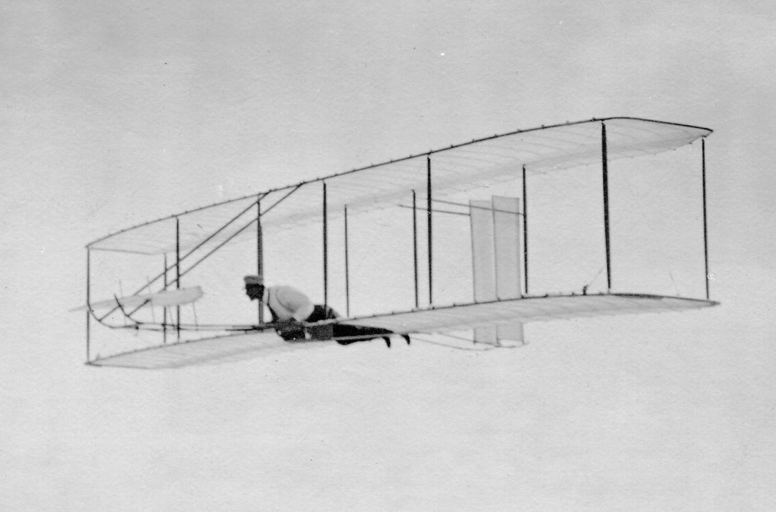 write brothers first flight Since 1899, wilbur and orville wright had been scientifically experimenting with the concepts of flight they labored in relative obscurity, while the experiments of samuel langley of the smithsonian were followed in the press and underwritten by the war department yet langley, as others before him.
