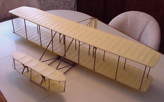 You can build a very capable Wright Glider from either of the Dare ...
