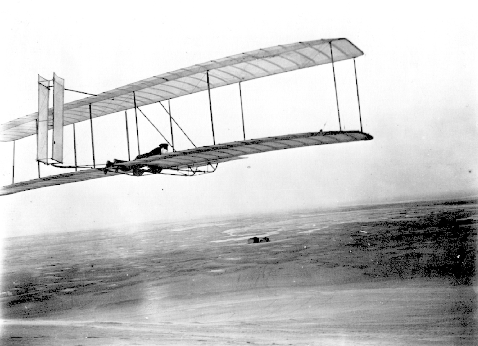 Wright Brothers Flight inside wright photos