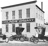 The wright timeline for Ford motor company history