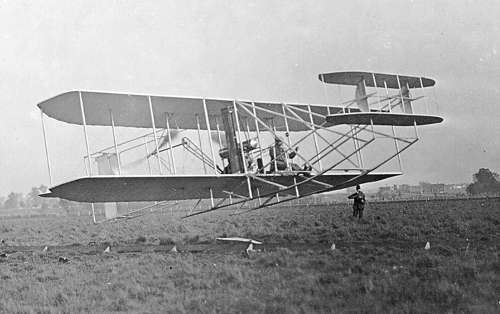For wright brothers the fist plane