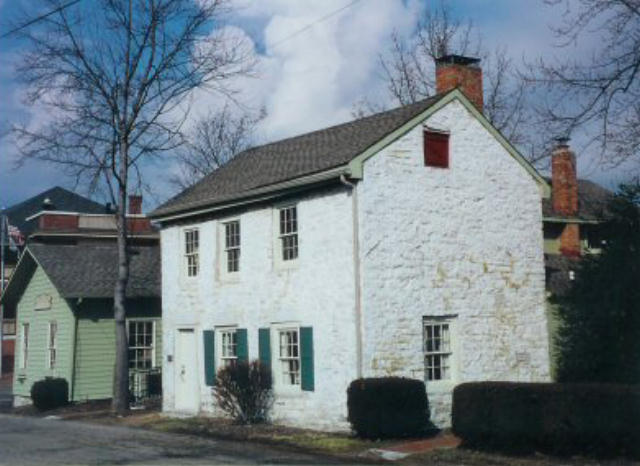 Asahel Wright s home in Centerville  Ohio is now a community center and  museum of Ohio pioneer life  To visit this building in Google Earth  click  HERE. On to Ohio ca  1800
