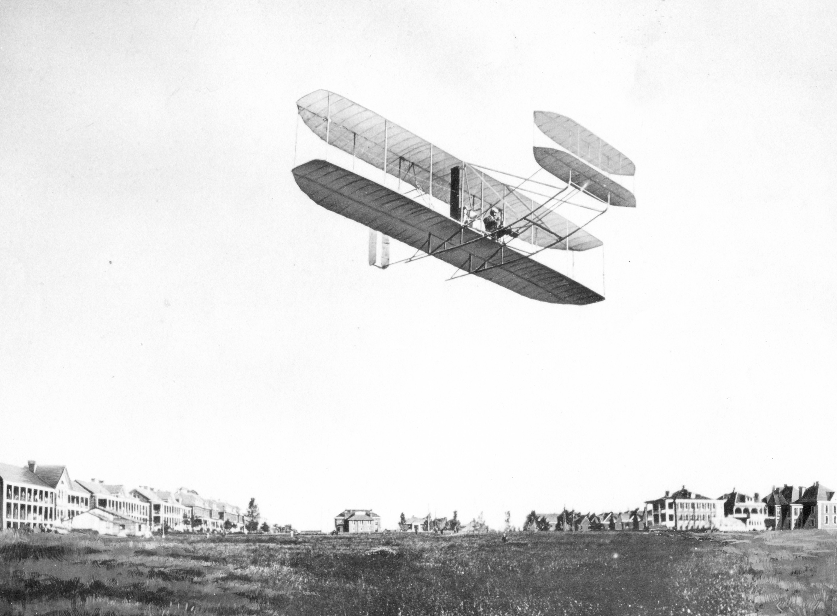 First Wright Brothers Flight within tragedy at fort myer